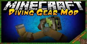 Simple Diving Gear Mod 1.16.3/1.15.2/1.12.2