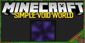 Simple Void World Mod 1.16.4/1.15.2/1.12.2