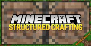 Structured Crafting Mod 1.16.5/1.15.2/1.12.2