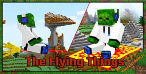 The Flying Things Mod 1.15.2/1.14.4/1.12.2