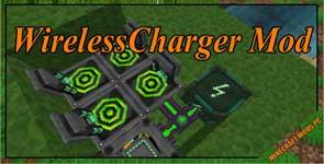 WirelessCharger Mod 1.12.2