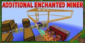 Additional Enchanted Miner Mod 1.16.5/1.15.2/1.12.2