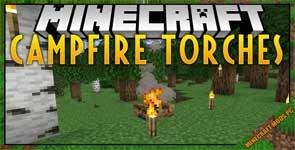 Campfire Torches Mod 1.16.4/1.15.2/1.14.4