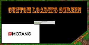 Custom Loading Screen Mod 1.12.2/1.7.10