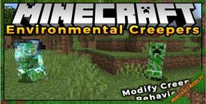 Environmental Creepers Mod 1.17.1/1.16.5/1.12.2