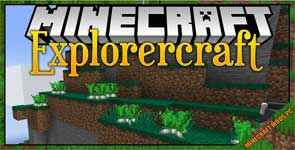 Explorercraft Mod 1.16.5/1.15.2/1.12.2