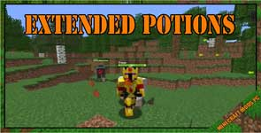 Extended Potions Mod 1.8.9/1.7.10