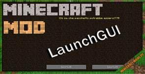 LaunchGUI Mod 1.12.2/1.10.2/1.7.10
