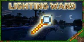 Lighting Wand Mod 1.17.1/1.16.5/1.12.2