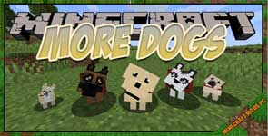 More Dogs Mod 1.15.2/1.14.4