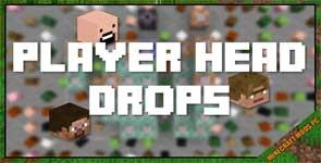 PlayersDropHeads Mod 1.12.2