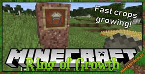 Ring of Growth [FORGE] Mod 1.16.5/1.15.2/1.14.4