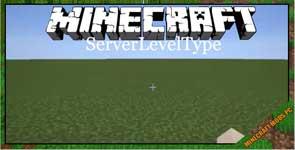 ServerLevelType Mod 1.12.2