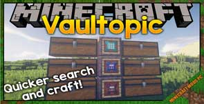 Vaultopic – Early Inventory Management Mod 1.12.2