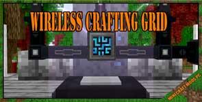 Wireless Crafting Grid Mod 1.10.2