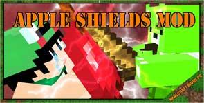 Apple Shields Mod 1.11.2/1.10.2/1.9.4