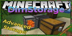 DimStorage Mod 1.17.1/1.16.5/1.12.2