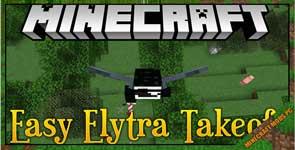 Easy Elytra Takeoff Mod 1.17.1/1.16.5/1.12.2