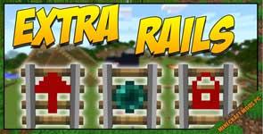 Extra Rails Mod 1.12.2/1.11.2/1.10.2