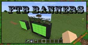 FTB Banners Mod 1.16.5/1.12.2