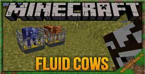 Fluid cows Mod 1.12.2