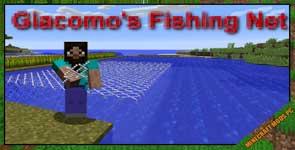 Giacomo's Fishing Net Mod 1.16.3/1.12.2/1.10.2