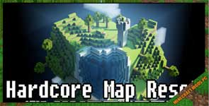 Hardcore Map Reset Mod 1.12.2/1.11.2/1.10.2