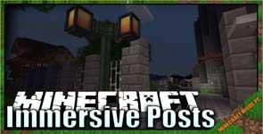 Immersive Posts Mod 1.16.5/1.15.2/1.12.2