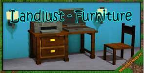 Landlust – Furniture Mod 1.12.2/1.10.2