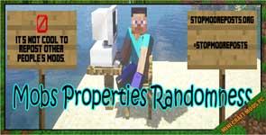 Mobs Properties Randomness Mod 1.16.5/1.12.2/1.11.2