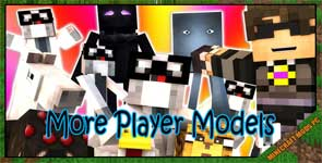More Player Models Mod 1.14.4/1.12.2/1.10.2