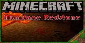 Mundane Redstone Ore Mod 1.16.5/1.12.2