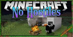 No Hostiles Around Campfire Mod 1.17.1/1.16.5/1.15.2