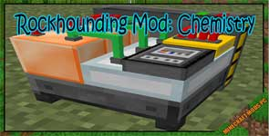 Rockhounding Mod: Chemistry Mod 1.12.2/1.11.2/1.10.2