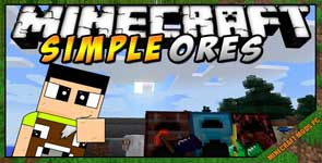 SimpleOres Mod 1.16.5/1.15.2/1.12.2
