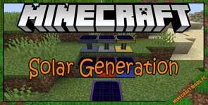 Solar Generation Mod 1.17.1/1.16.5/1.15.2
