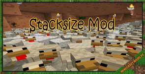Stacksize Mod 1.12.2/1.11.2/1.10.2