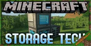 Storage Tech Mod 1.16.5/1.15.2/1.12.2