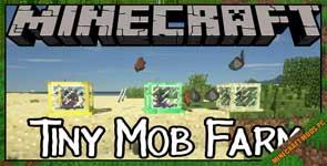 Tiny Mob Farm Mod 1.16.3/1.15.2/1.12.2