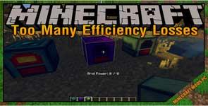 Too Many Efficiency Losses Mod 1.12.2