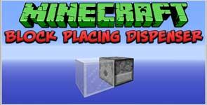 BlockDispenser Mod 1.11.2/1.10.2