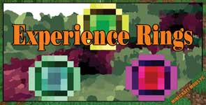 Experience Rings Mod 1.11.2/1.10.2/1.7.10