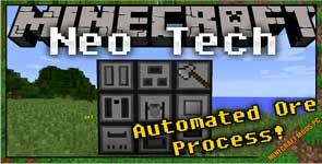 NeoTech Mod 1.11.2/1.10.2/1.9.4