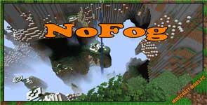 NoFog Mod 1.17.1/1.16.5/1.12.2