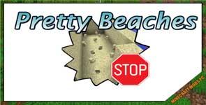Pretty Beaches Mod 1.16.5/1.15.2/1.12.2