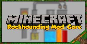 Rockhounding Mod: Core Mod 1.12.2/1.11.2/1.10.2