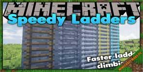 Speedy Ladders Mod 1.16.5/1.15.2/1.14.4