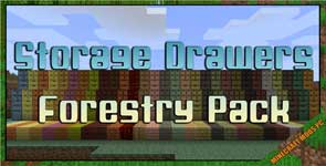 Storage Drawers: Forestry Pack Mod 1.7.10