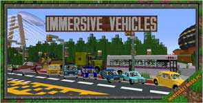 Transport Simulator – Official Vehicle Set Mod 1.12.2/1.11.2/1.10.2