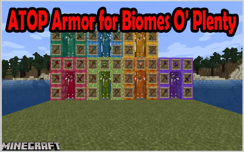ATOP Armor for Biomes O' Plenty (Forge)